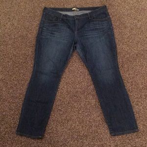 Old navy skinny Jeans 16 short